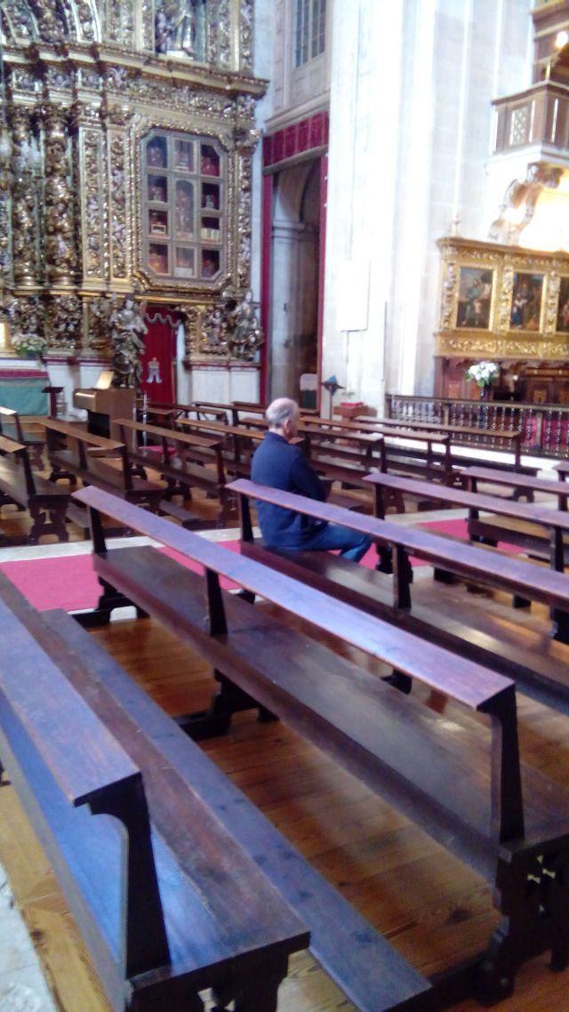 Blog over Sé Nova in Coimbra
