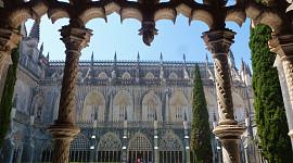 Klooster Batalha binnentuin