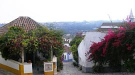 Bloemenpracht Obidos
