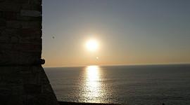 zonsondergang Nazare Vuurtoren
